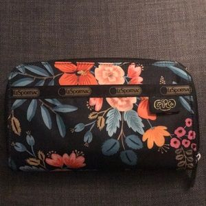 Handbags - NWOT Lesportsac Rifle Paper Co Wallet